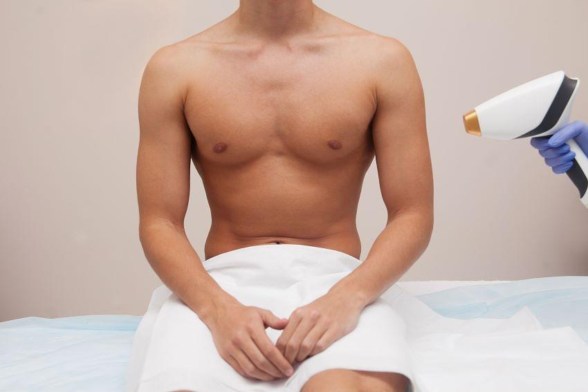 depilacion genital masculina